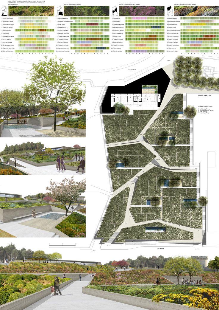 Giardino urbano, infrastrutture ipogee e accesso agli antichi Rioni Sassi. Matera