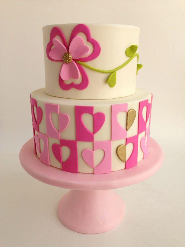 Idee für eine Torte für Mädchen