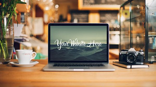 120+ Apple Macbook Pro & Air and iMac Mockup Templates For Free ...