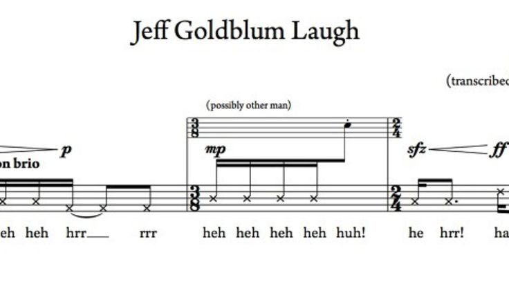 Now you can play Jeff Goldblum's weird laugh from Jurassic Park on any instrument