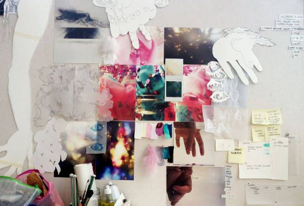 #Design #Process A Look Behind the Collection by Cæcilie Dyrup/ Designskolen Kolding