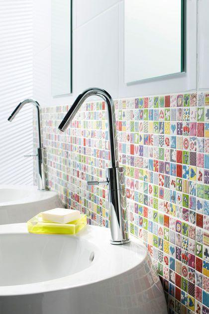 D co salle de bain pas cher relooking rapide d 39 une salle de bain moche d e a r f u t u r e c - Deco salle de bain pas cher ...