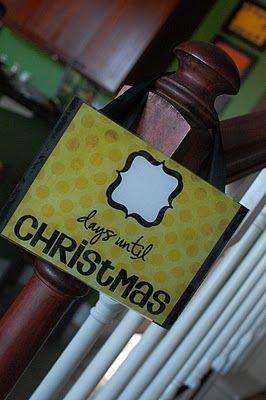 countdownHoliday Ideas, Christmas Countdown, Christmas Crafts, Christmas Signs, Countdown To Christmas, Random Thoughts, Holiday Crafts, Christmas Ideas, Diy Christmas