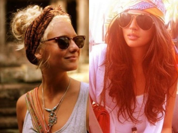Trend: Music Festival Fashion  Singlet, lace/denim/leather shorts, ankle boots or Toms, sunglasses, hair bandana or hat, lots of bangles or layered necklaces...