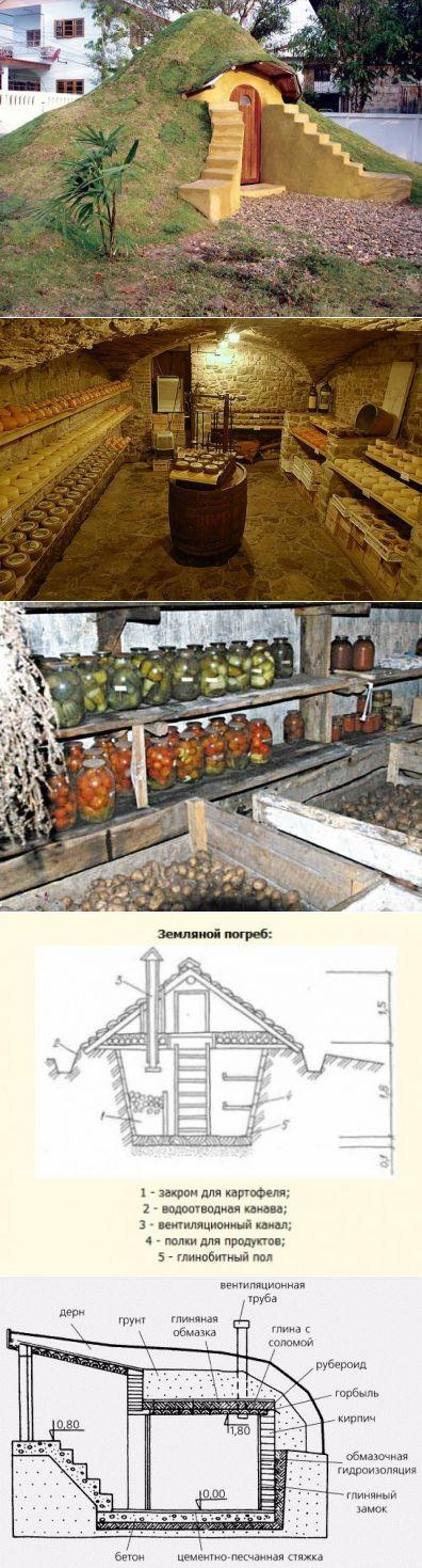 Погреб на даче своими руками: пошаговая инструкция