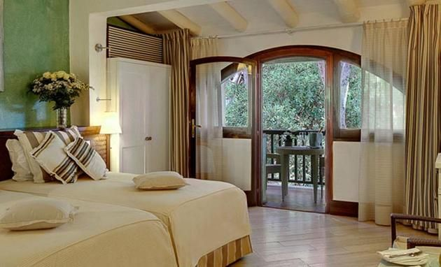 Expensive Accommodation: The Le Dune, Forte Village Resort, located on the Mediterranean Island of Sardinia charges an average rate of $2539 per night.