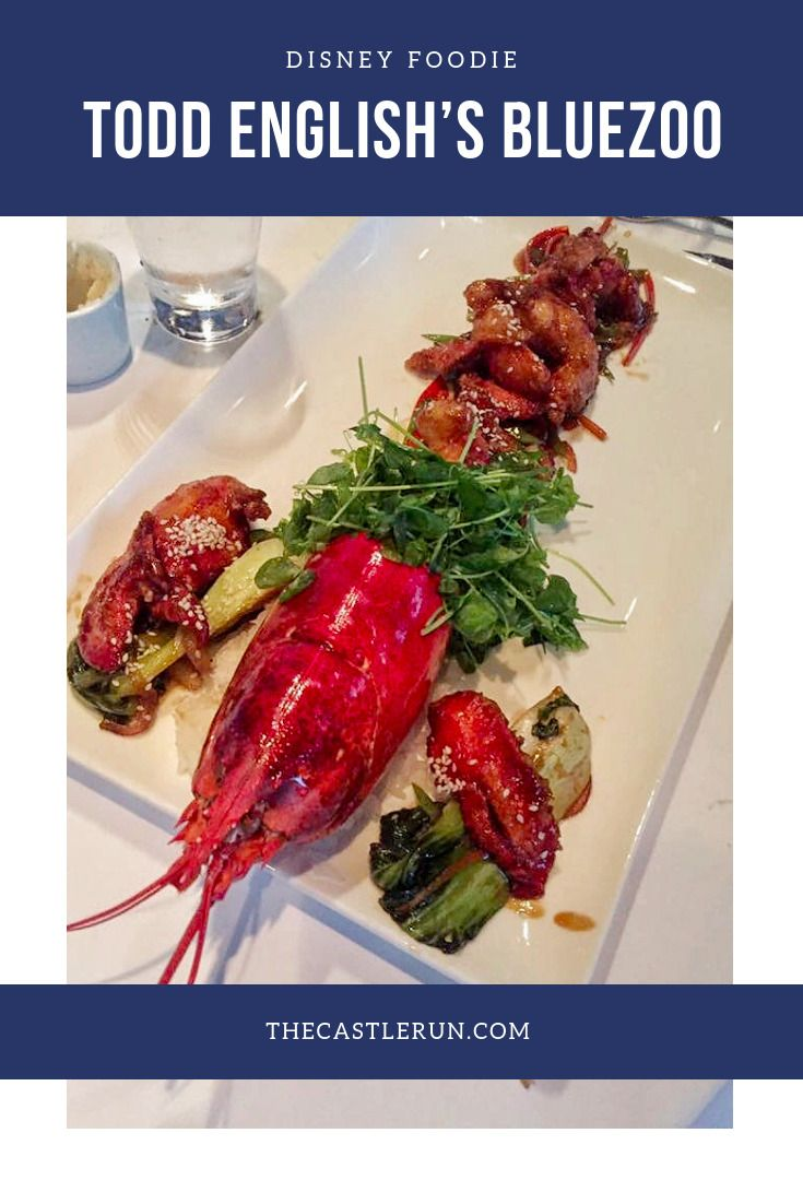 Eat This Todd English S Bluezoo At The Dolphin Hotel The Castle Run Eat Foodie Food