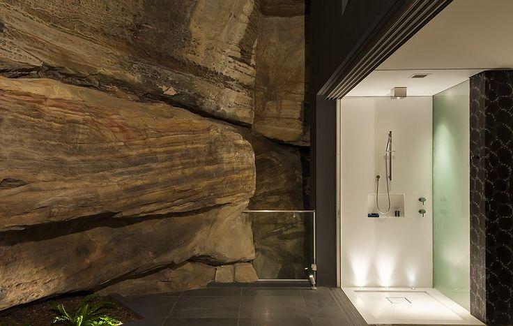 Stunning bathroom and ensuite design by Minosa design Contemporary Ensuite Bathroom With Cutting Edge Design in Sydney