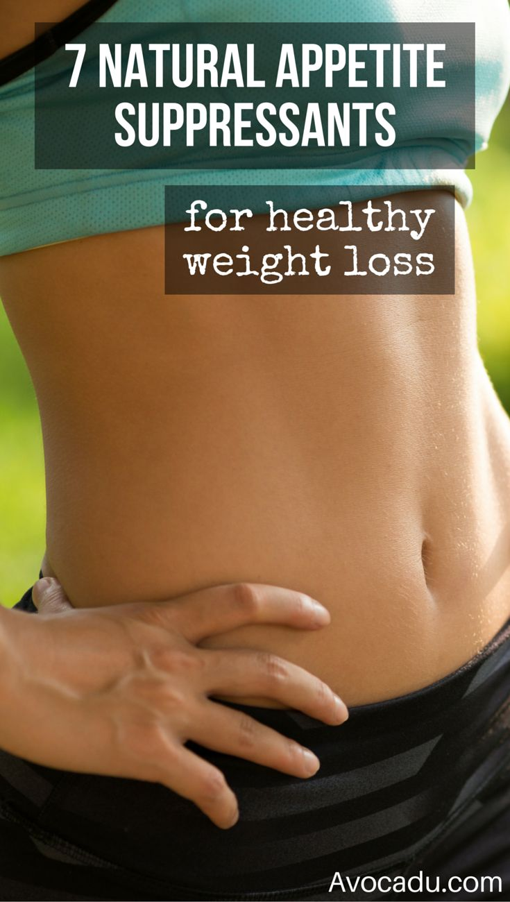 7 Natural Appetite Suppressants For Healthy Weight Loss