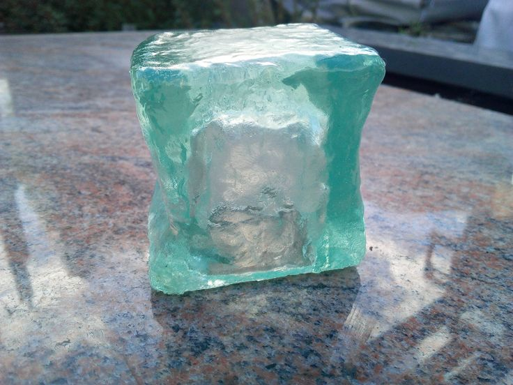 Gelatinous Cube made in trasparent resin -DungeoNext