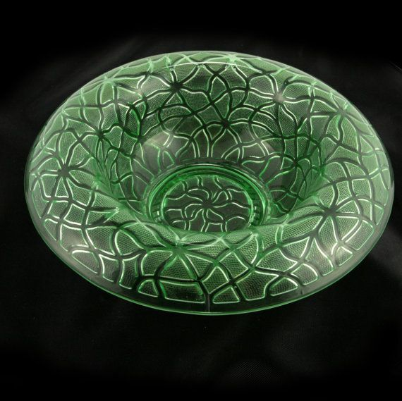 Imperial Glass Tree of Life Rolled Edge Console Bowl by charmings