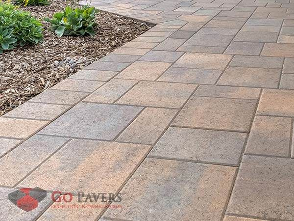 Belgard Catalina Grana View Pictures Sizes Colors And Get Installation Price Per Sq Ft For Your Belgard Pavers Proj Belgard Pavers Front Yard Paver Patio