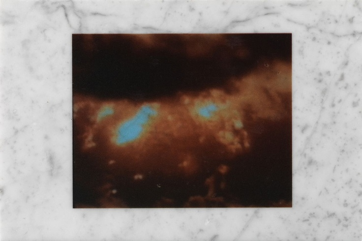 Stefano Cagol - The Marble Book Atomicwerk - 2005 - Stampa Rho su marmo di Carrara - 29 x 21 x 1,5 cm