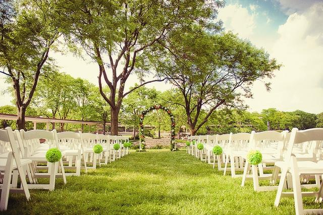 Simple outdoor wedding ceremony wedding pinterest for Simple outdoor wedding ceremony ideas
