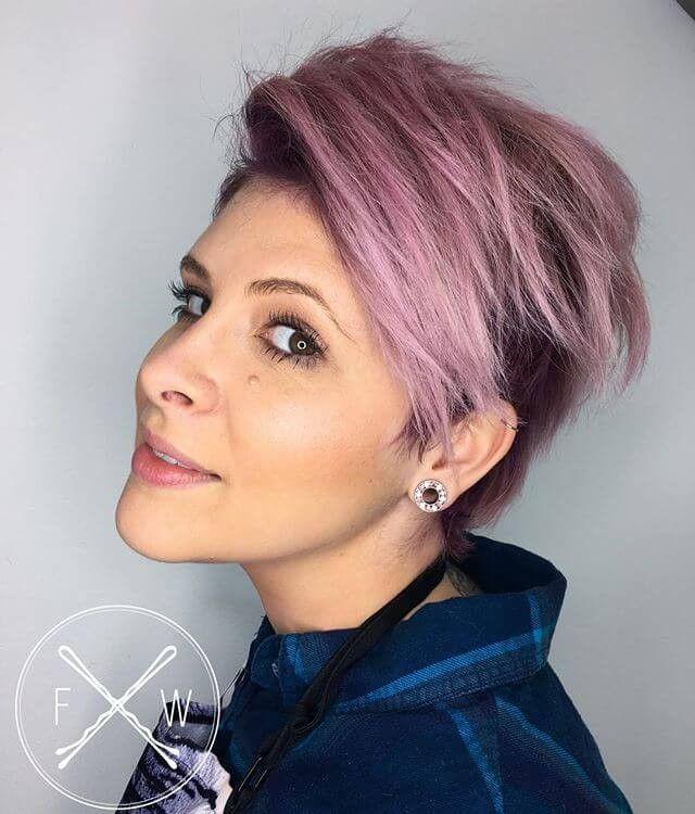 50 Rosa Frisuren Um Ihren Look Aufzupeppen Farbige Frisuren