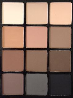 Sonia Kashuk 'Eye on Neutral' Matte Palette- looks like you could get pretty much every basic look out of this palette, and brows! so cheap too. definitely want this in my kit and my personal stash.