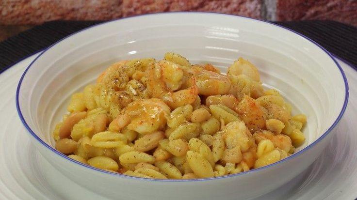 Ricetta Gnocchetti sardi con gamberi e fagioli: Gli gnocchetti sardi con gamberi e fagioli sono un primo piatto strepitoso! Se volete stupire con il connubio legumi e crostacei questa ricetta è perfetta!