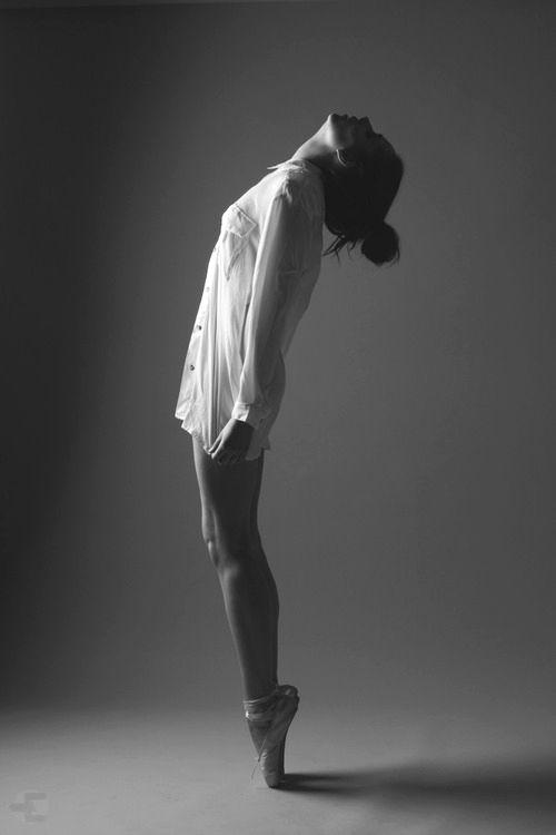 """Anni"" by Nadi Hammouda, via 500px. nadi_hammouda anni b_w photography women ballet"