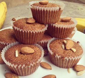 Банановые кексы с шоколадом (без муки, веганские)