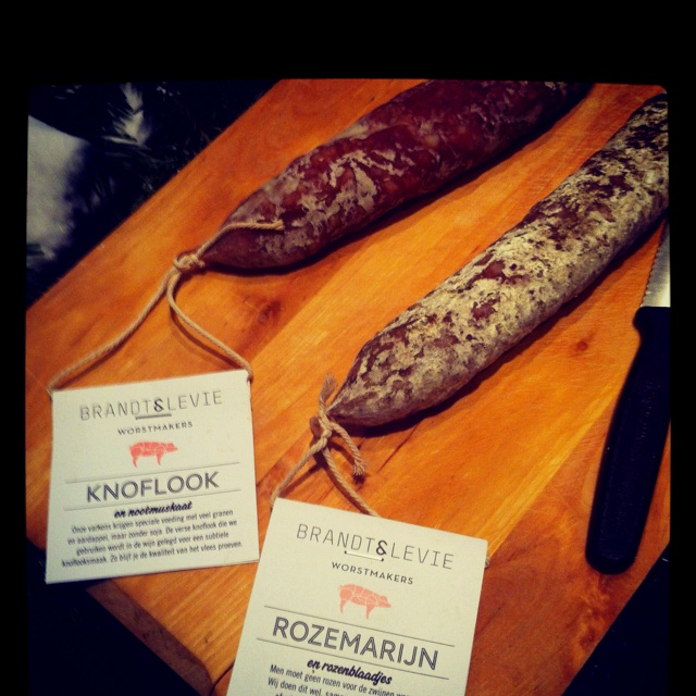 The best dried sausages ever by brandt&levie