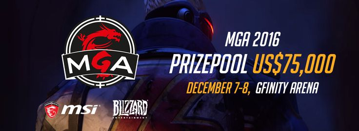Gfinity to host the Overwatch MGA 2016 Championship Grand Finals presented by MSIGfinity are proud to announce that they have been selected by MSI as the official host of the Overwatch MGA 2016 Championship.