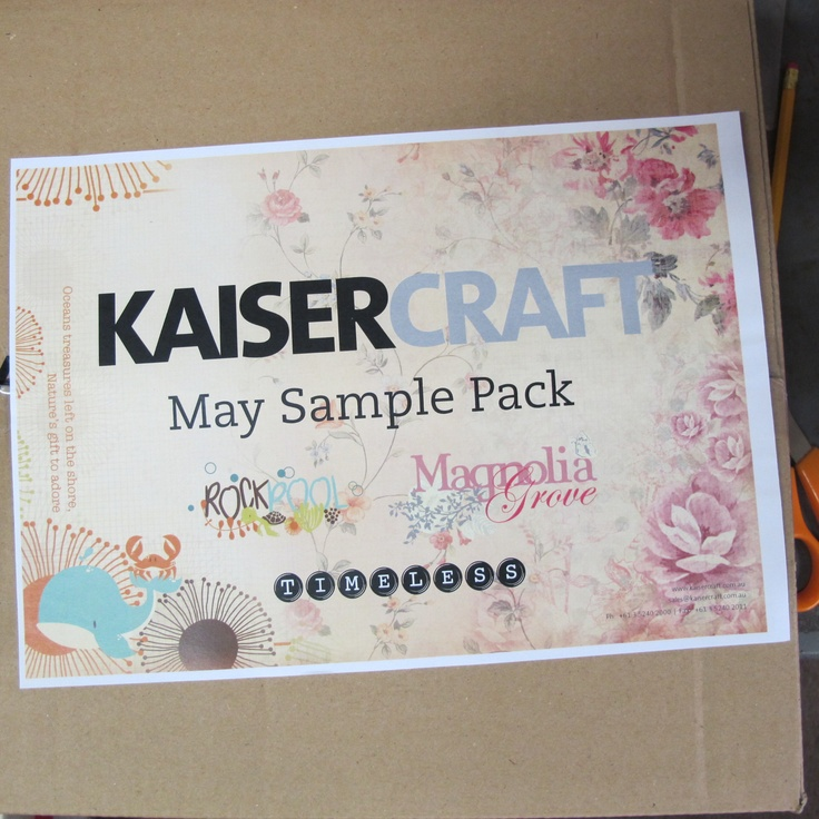 This arrived Friday!! Teachers, Staff and Customers went wild..   Come and see the new Kaiser Craft ranges.. in store now at Alice in Paperland, Rydalmere Sydney