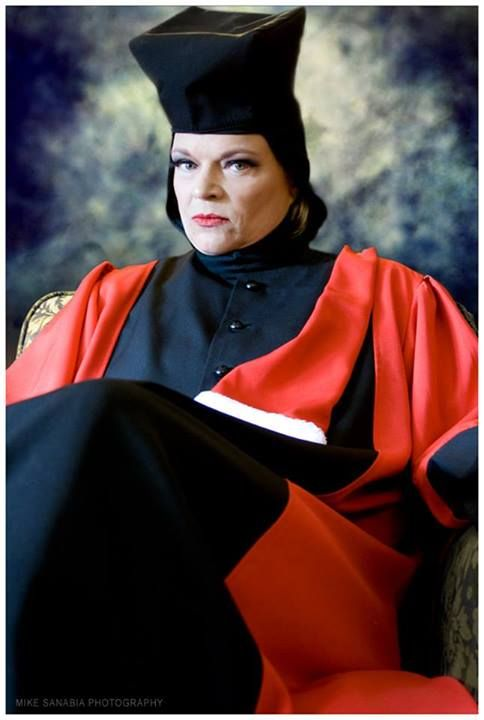 """""""Traditional"""" Seattle Wedding Officiant performs ceremony in character as Q! #startrek"""