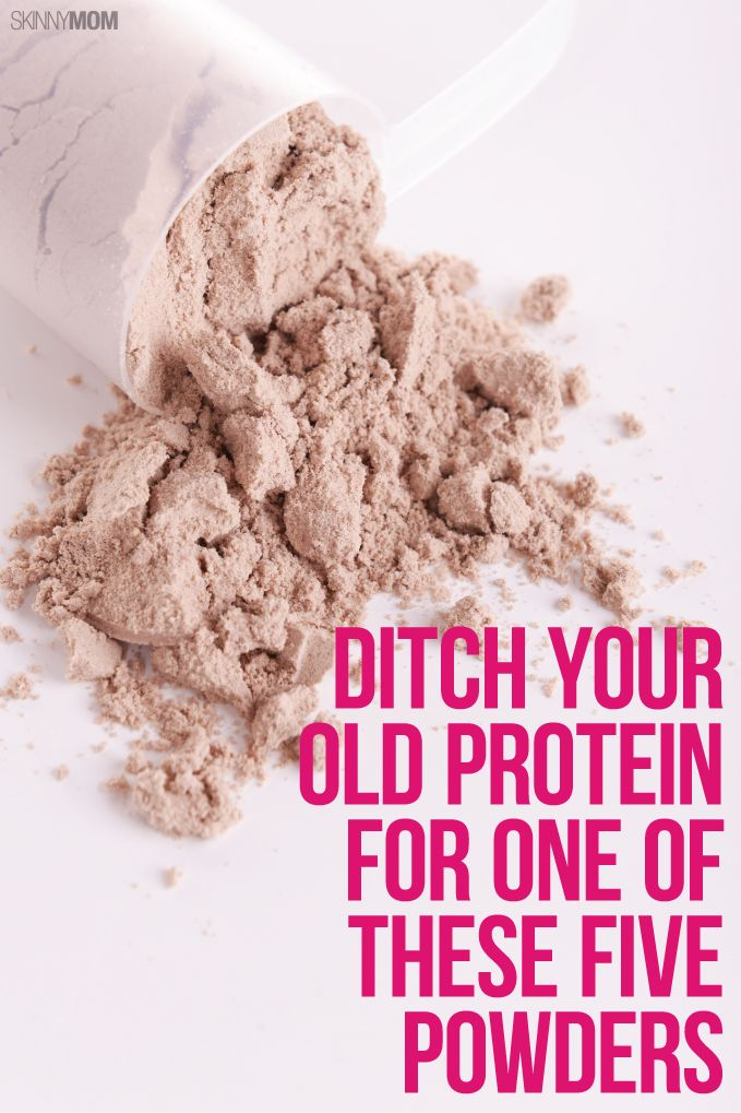 It's time to BREAK UP with your current protein for these (much tastier) protein powders!
