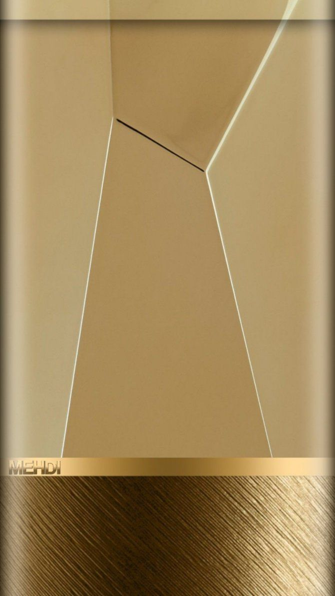 Gold Cream phone background by mehdidiv1