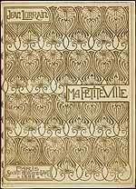 book cover, art nouveau style I love