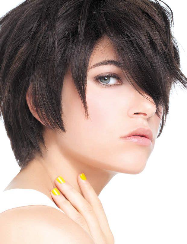 un brun froid les bruns aux reflets violets et froids seront parfaits pour une peau mtisse - Coloration Brun Froid