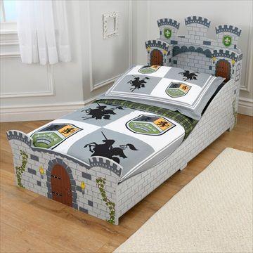 KIDKRAFT BARNESENG Pakketilbud 'Medieval Castle/Middelaldersborgseng Toddler Bed' + Madrass + 4stk Sengetøysett. Frifrakt Kr 2999