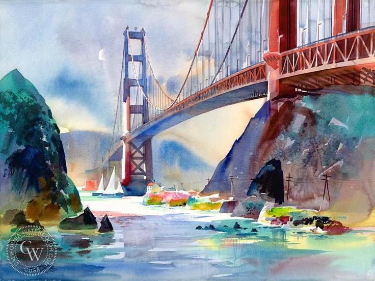 Ken Potter Watercolor Water Color Pinterest
