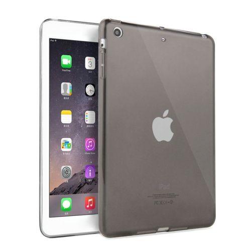 [$1.45] [€1.37] [£1.06] HAWEEL Slim Transparent TPU Protective Case for iPad mini 1 / 2 / 3(Black)