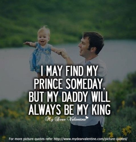 quotes about father and daughter. I love my hubby with all my heart, but I will ALWAYS. Be. A. Daddy's. Girl.