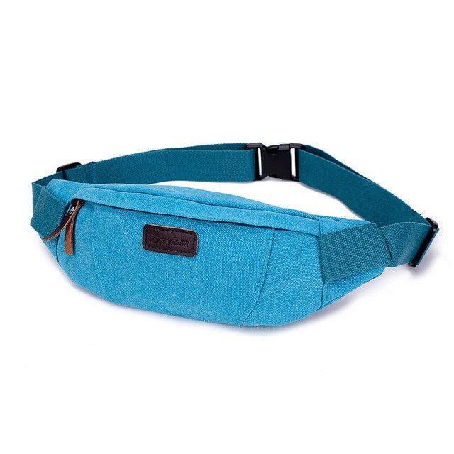 'Leather Branded' Fanny Pack
