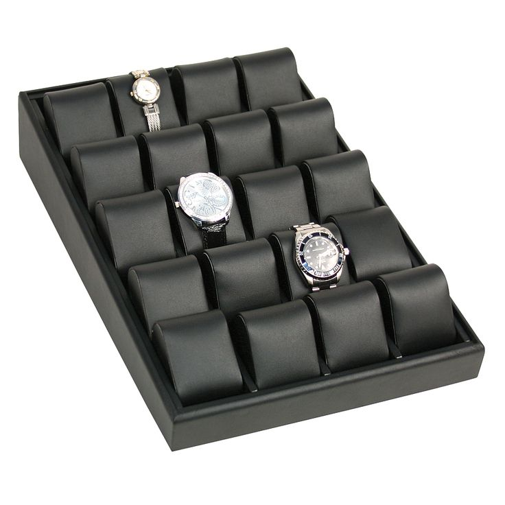 Watch Box Angled Display Case for 20 Watches