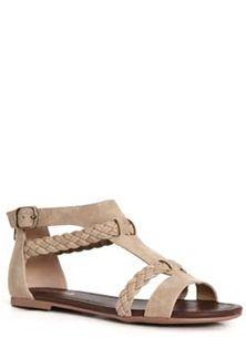 b5947def84a60 Soda Shoes Cercie Braided Sandals for Women in Light Taupe CERCIE-LTTAU