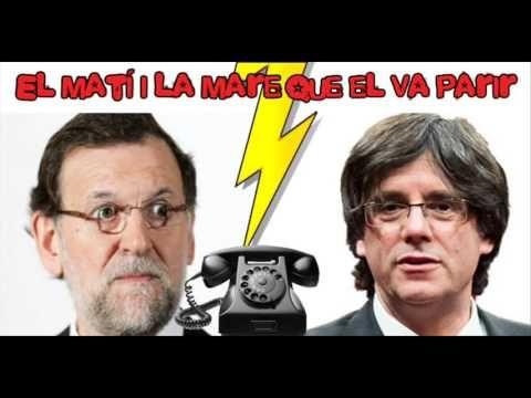 [Àudio] Ràdio Flaixbac parla amb Rajoy fent-se passar per Puigdemont ! directe!cat
