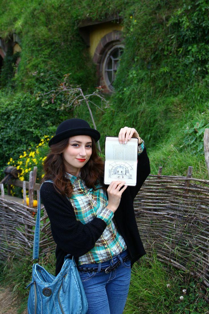 An adventure at the Hobbiton, new zealand | Simona's Journey!