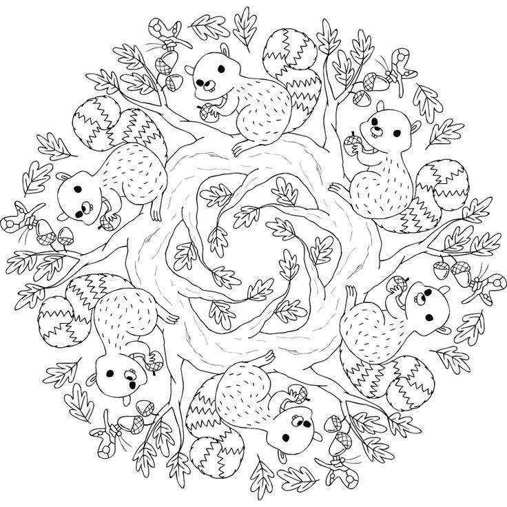 Hyde Park Critters - a free printable mandala coloring page from mondaymandala.com https://mondaymandala.com/m/hyde-park-critters?utm_campaign=sendible-pinterest&utm_medium=social&utm_source=pinterest&utm_content=hyde-park-critters#utm_sguid=164897,f05b2f2e-d114-5297-6920-39bfd7833125