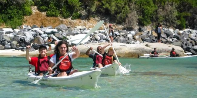 Penguin Sea Kayak Trip  One of the most unique places in the world - a penguin colony in suburban Cape Town! And the best way to see it is from the water.  We leave from Simon's Town Waterfront and paddle past the civilian and Naval Harbour and out to Boulder's Beach.  After visiting the penguins we stop on a lovely semi-private beach for refreshments, swimming and snorkelling (we provide the snorkels and bottled drinking water.)  Our double kayaks are very stable and perfect for those with…