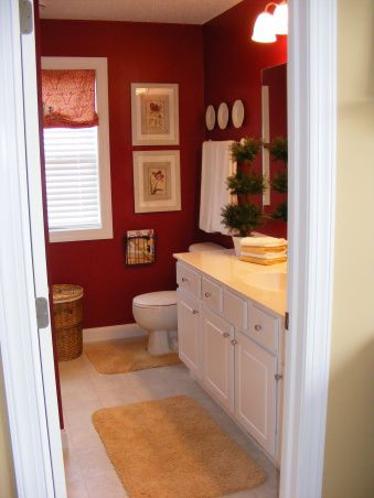 best 25+ red bathrooms ideas on pinterest | paint ideas for