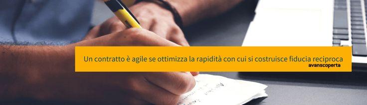 Contratti Agili: punta dritto alla buona collaborazione