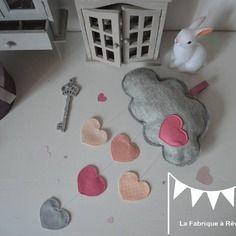 37 besten Décoration chambre enfant fille rose poudré gris Bilder ...