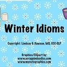 Free! Winter Idioms! Practice figurative language skills with these fun winter-themed idioms!  ...