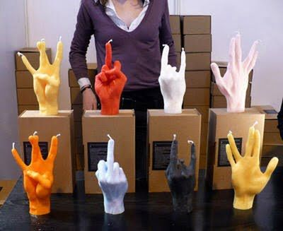 cool+candles | SOMETHING AMAZING: 10 Awesome Candle Designs