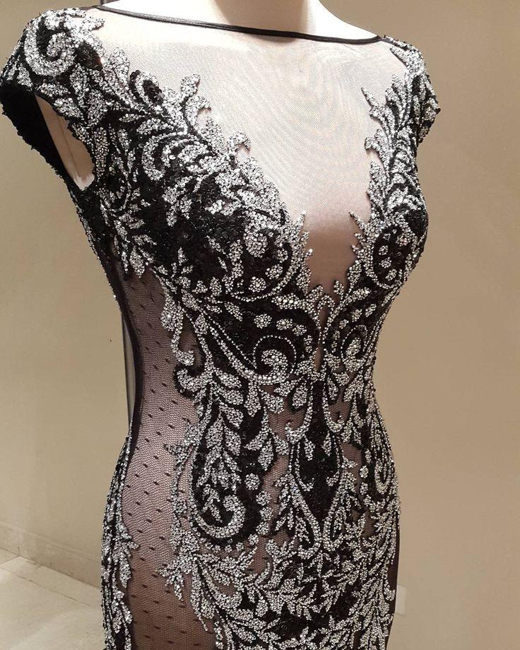"""87 Likes, 1 Comments - ANTOINE SALAMEH (@antoine_salame) on Instagram: """"Dress by @labourjoisie  designer @nadimski  For information 0096599942100  #labourjoisie #gown…"""""""