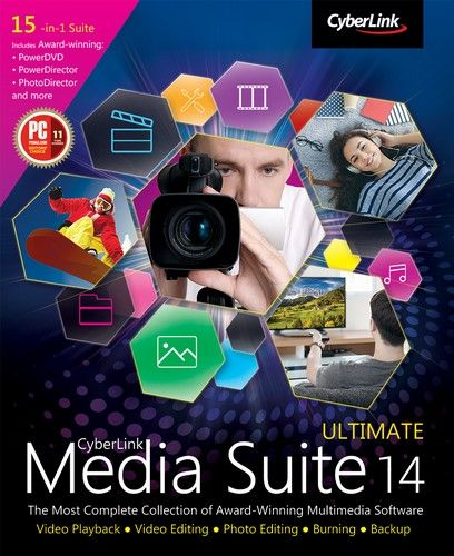 CyberLink Media Suite Ultimate 14.0.0627.0 Multilingual Free Download   CyberLink Media Suite Ultimate 14.0.0627.0 Multilingual Free Download Version. Its full offline installer standalone setup of CyberLink Media Suite Ultimate  CyberLink Media Suite Ultimate 14.0.0627.0 Multilingual Overview  CyberLink Media Suite Ultimate 14.0.0627.0 is a comprehensive suite which will integrate many programs into one single station. With this suite you can play create organize and share your media files…