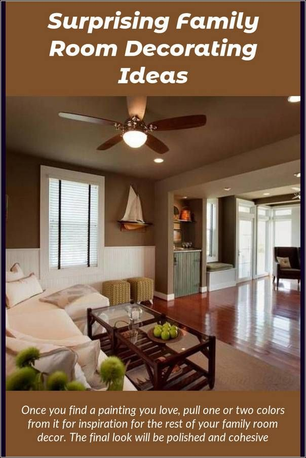 Family Room Decorating Possess A Smooth Interior Planning